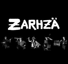 illustration de présentation de la soirée avec Zarhzä et Faz-B