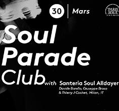 illustration de présentation de la soirée avec Soul Parade Club 67 | Guest Santeria Soul Alldayer