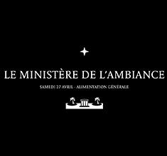 illustration de présentation de la soirée avec La Bagnolette présente Le Ministère de l'ambiance