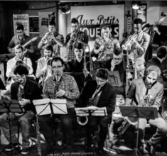 illustration de présentation de la soirée avec The Dedication Big Band