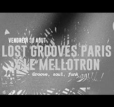 illustration de présentation de la soirée avec Lost Grooves Paris x Le Mellotron