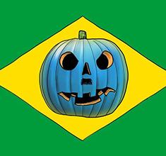 illustration de présentation de la soirée avec Halloween do Brasil – Samba, Forro, MPB, Carimbo Axé & Electro!