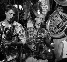 illustration de présentation de la soirée avec LNA Brass Band // Film et Concert