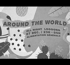 illustration de présentation de la soirée avec Around The World
