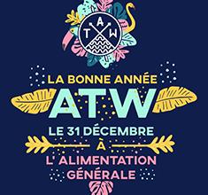 illustration de présentation de la soirée avec La bonne année ATW !