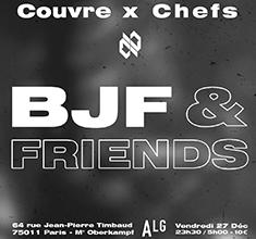 illustration de présentation de la soirée avec Couvre x Chefs : BJF & Friends