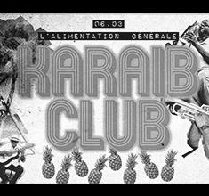 illustration de présentation de la soirée avec Karaib Club