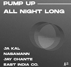illustration de présentation de la soirée avec Pump up the volume